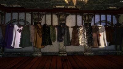 Cloaks dresser middle