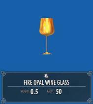 Fire Opal Wine Glass SSE