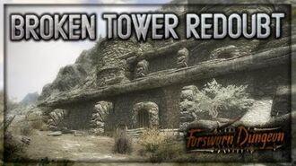 "(LOTD) ""Broken Tower Redoubt"" Walkthrough! - Forsworn Dungeon - Skyrim Special Edition - Ace"