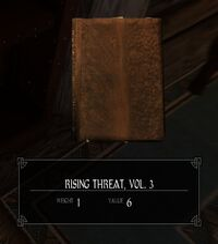 Rising threat 3 front