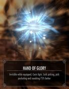 Hand of glory buff