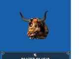 Roasted Ox Head