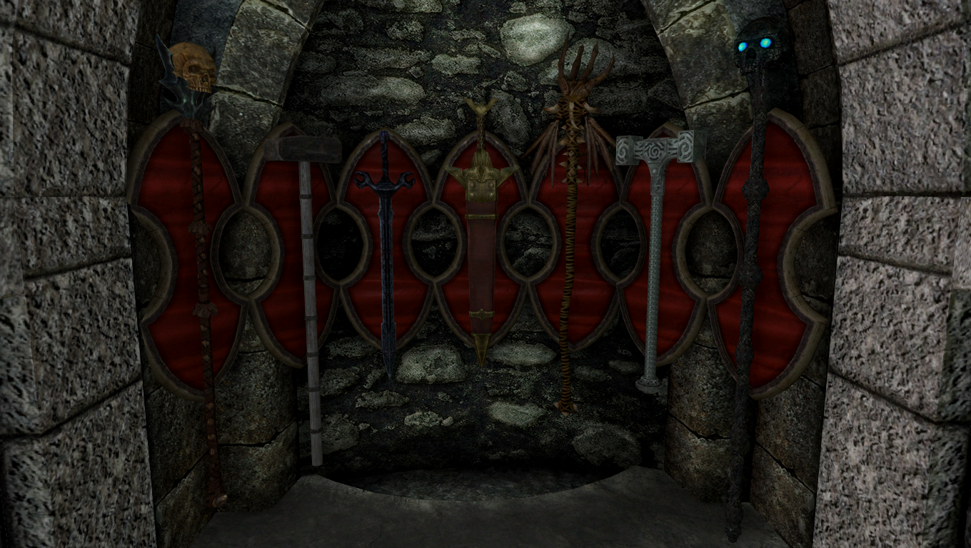 Artifacts of Skyrim Room (Special Edition) | Legacy of the