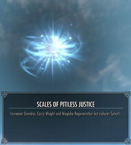 Scales of Pitiless Justice Effect