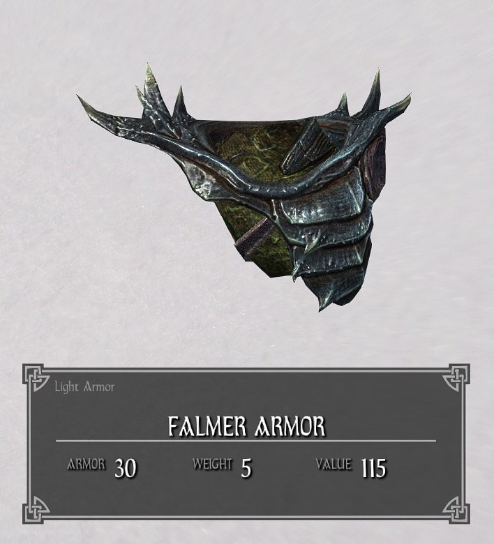 Falmer Armor | Legacy of the Dragonborn | FANDOM powered by