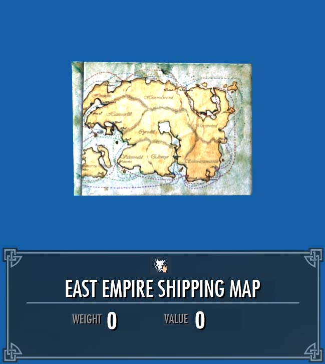 East Empire Shipping Map | Legacy of the Dragonborn | FANDOM