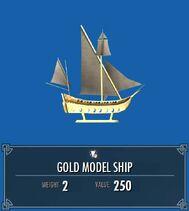Gold Model Ship SSE