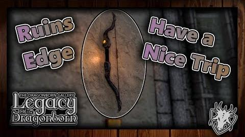 "(LOTD) ""Have a Nice Trip"" Walkthrough - Ruins Edge - (Daedric Displays -2) - Skyrim SE (Legacy)"
