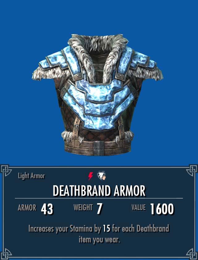 Deathbrand Armor Legacy Of The Dragonborn Fandom Powered By Wikia