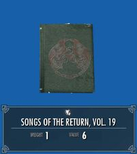 Songs of the return 19 front