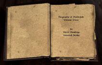 Biography of barenziah 3 open