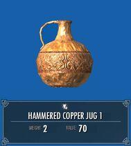 Hammered Copper Jug 1 SSE