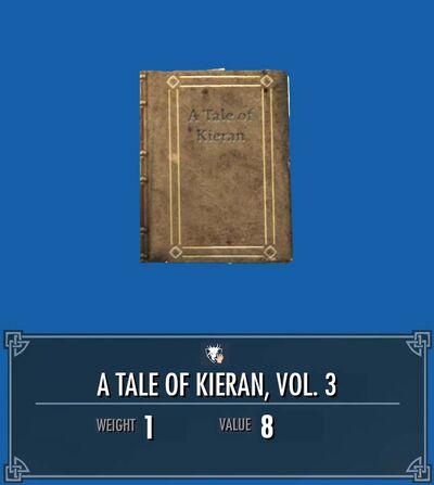 A tale of kieran 3 front