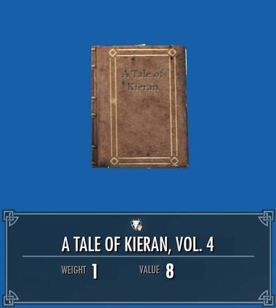 A tale of kieran, vol4