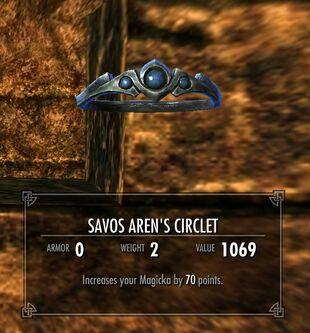 Savos Aren's Circlet