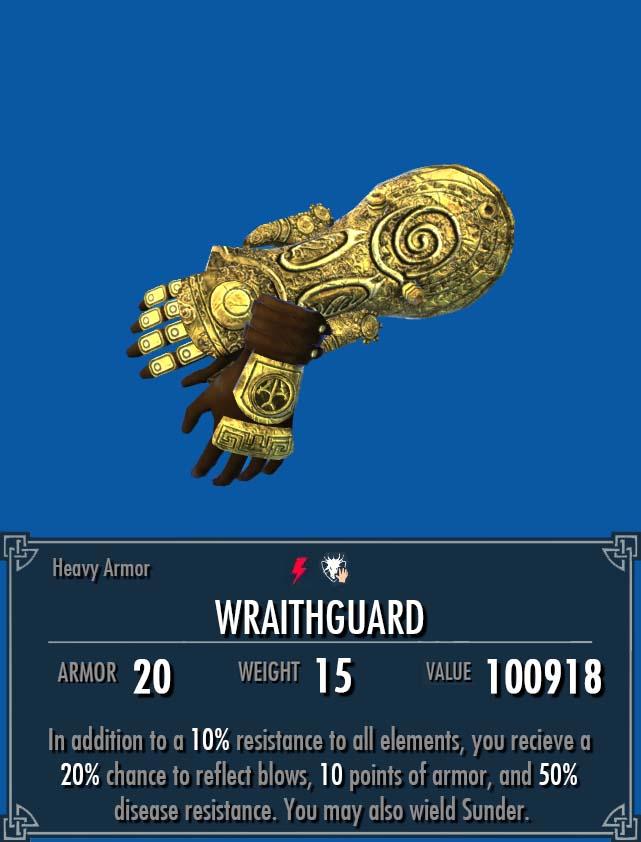 Wraithguard Legacy Of The Dragonborn Fandom Powered By