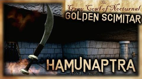 """Hamunaptra"" Location Guide - ""Golden Scimitar"" Location! - ""Gray Cowl of Nocturnal"" - Skyrim SE"