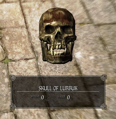 Skull of Lurbuk