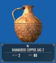 Hammered Copper Jug 2 SSE