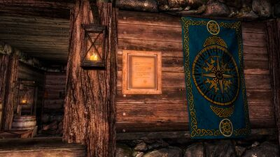 Guild house charter display