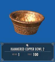 Hammered Copper Bowl 2 SSE