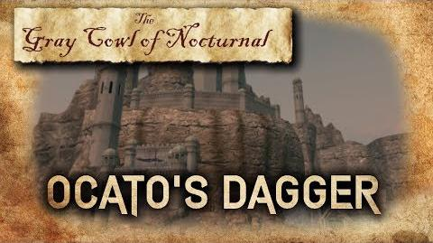 """Ocato's Dagger"" Location! - ""Gray Cowl of Nocturnal"" - Skyrim SE (Legacy)"