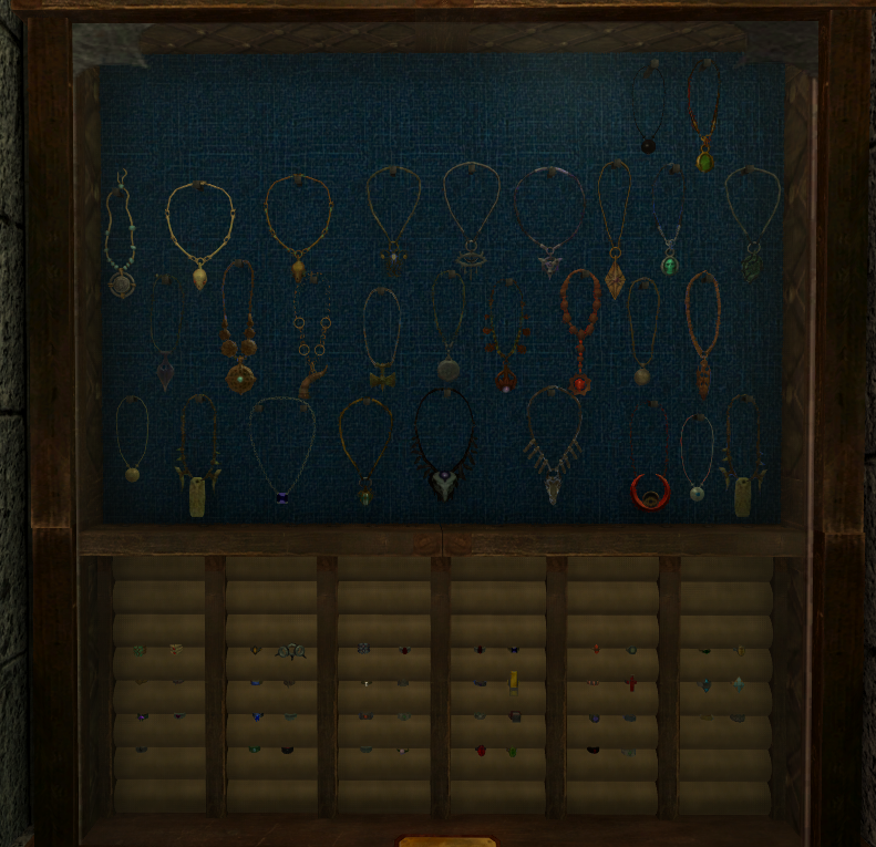 Tab for Jewelry Display - Special Edition Skyrim | Legacy of the