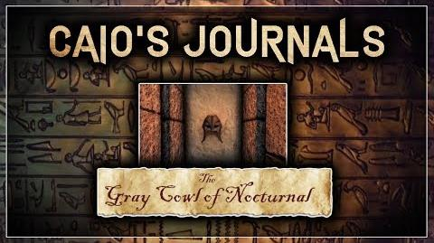 "QUICK Caio's Journal Guide! - ""The Gray Cowl of Nocturnal"" - Skyrim SE (Legacy)"