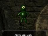 Green Ninja Doll