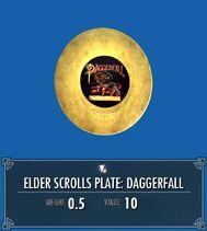 Elder Scrolls Plate Daggerfall