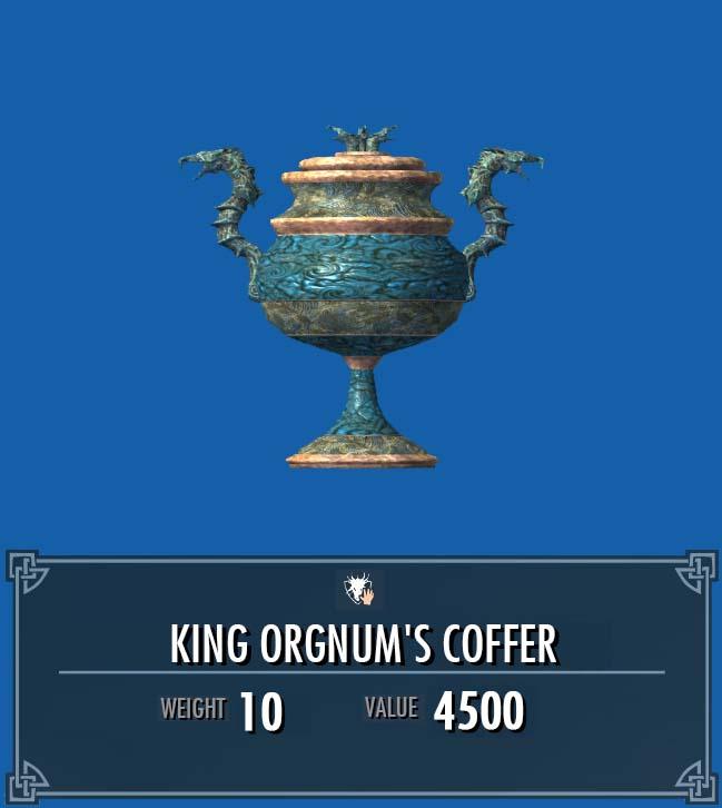 King Orgnum's Coffer | Legacy of the Dragonborn | FANDOM powered by