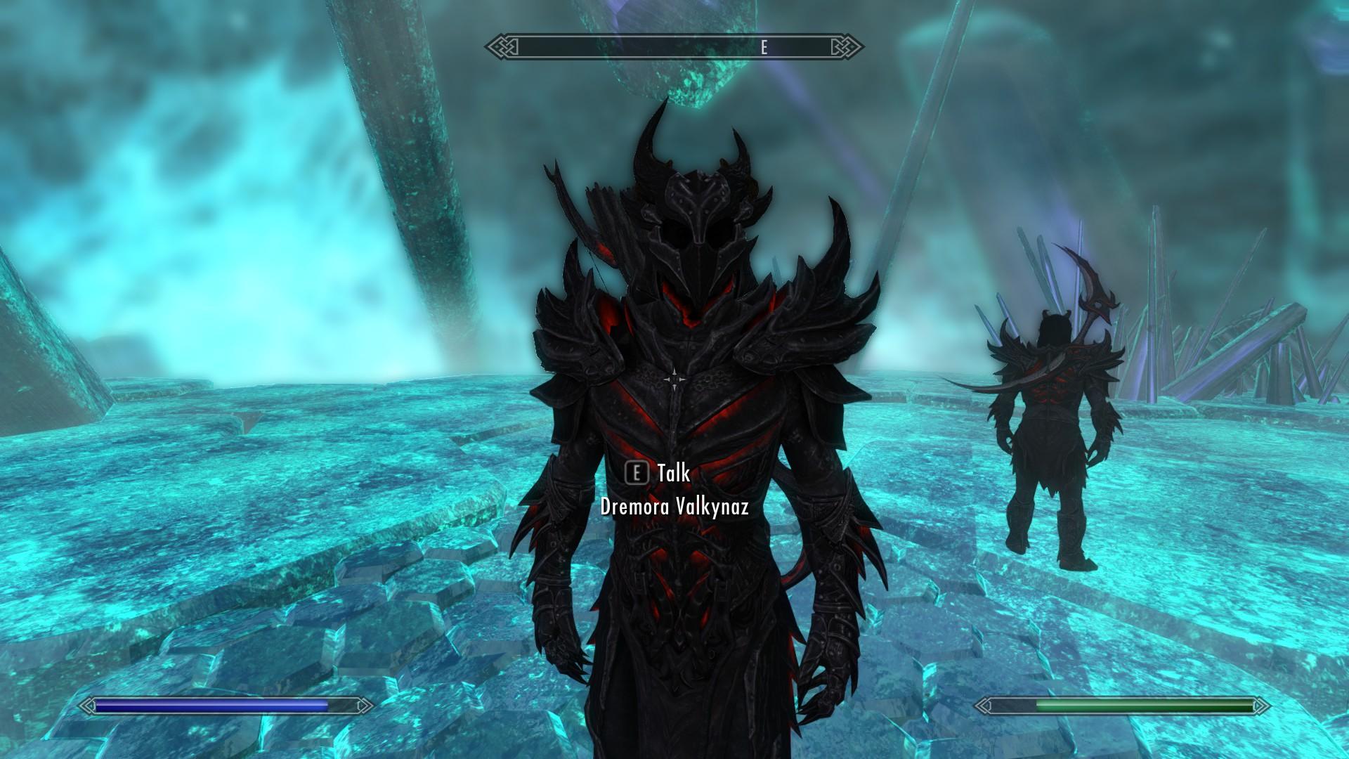 Skyrim Battles - 1/2 Daedric Warrior 50 Dremora Valkynaz v ...