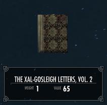 TheXalGosleighLettersVol2
