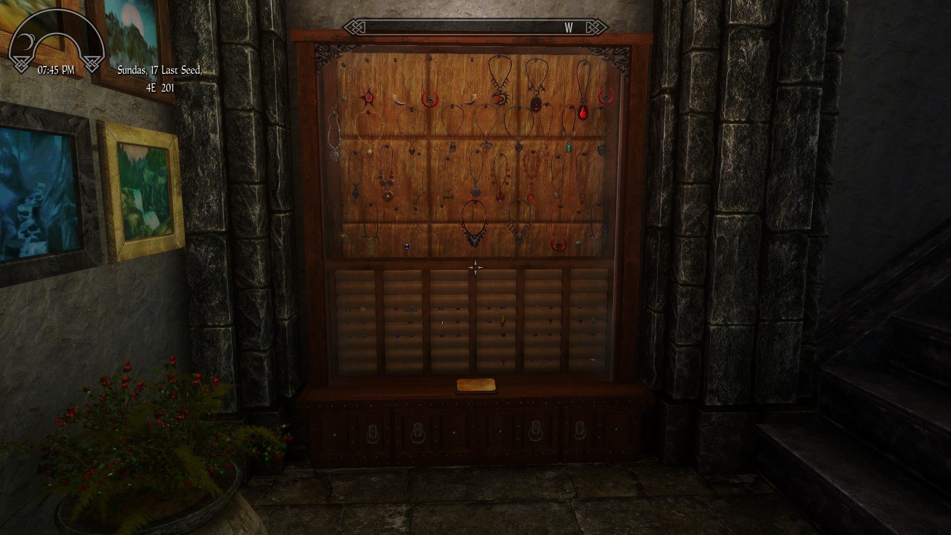 Tab for Jewelry Display - Classic Skyrim | Legacy of the