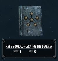 RareBookConcerningTheDwemer