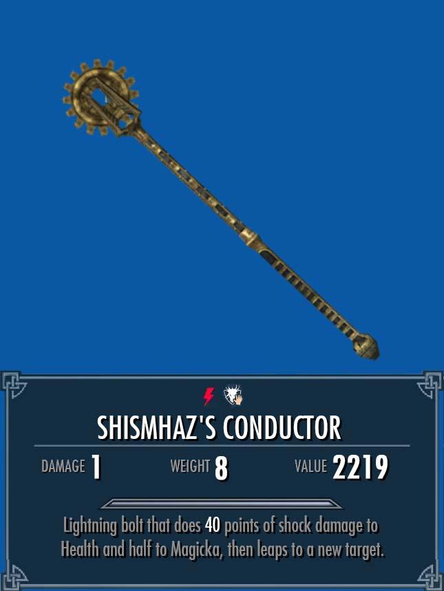 Shismhaz's Conductor   Legacy of the Dragonborn   FANDOM