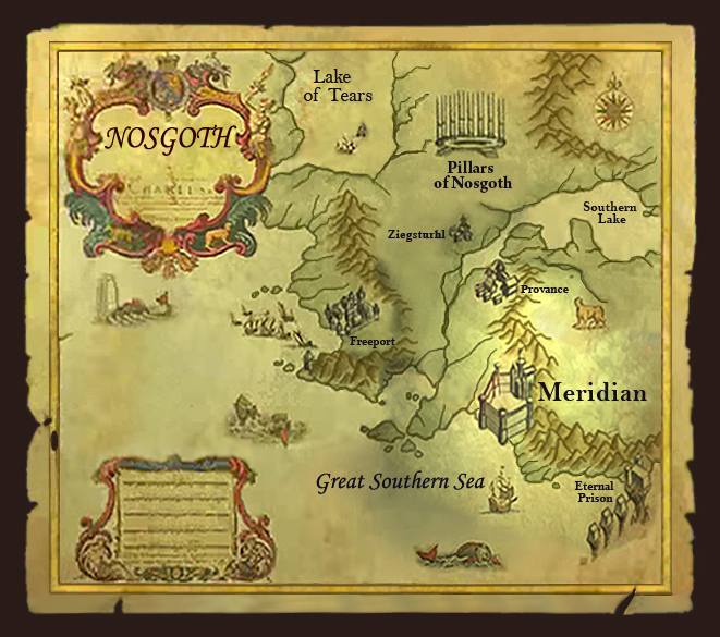 Image Meridian Mapjpg Legacy of Kain Wiki FANDOM powered by Wikia