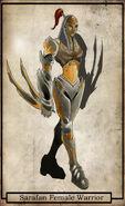 Sarafan Female Warrior