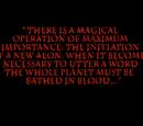 Blood Omen epigraph