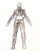Hylden female costumeback