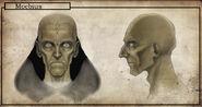 Moebius face modelsheet color
