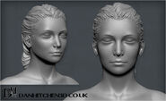 Jael High Poly Head