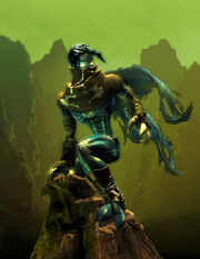 Raziel on rock