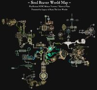 World Map Evolution-01-Maps-Soul Reaver World Map-NTSC Release-Material