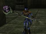 Dark Forge staffs