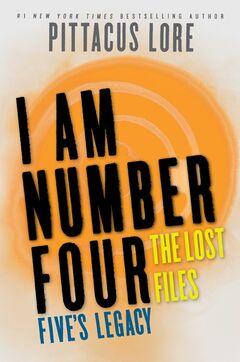 Los Archivos Perdidos Legados de Cinco cover