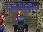 Cort is wearing a seru
