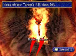 Burning attack 2