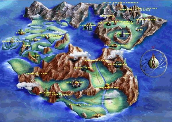 Legend of legaia world map legaia wiki fandom powered by wikia legaiamap gumiabroncs Gallery