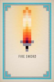 Fire Sword Card